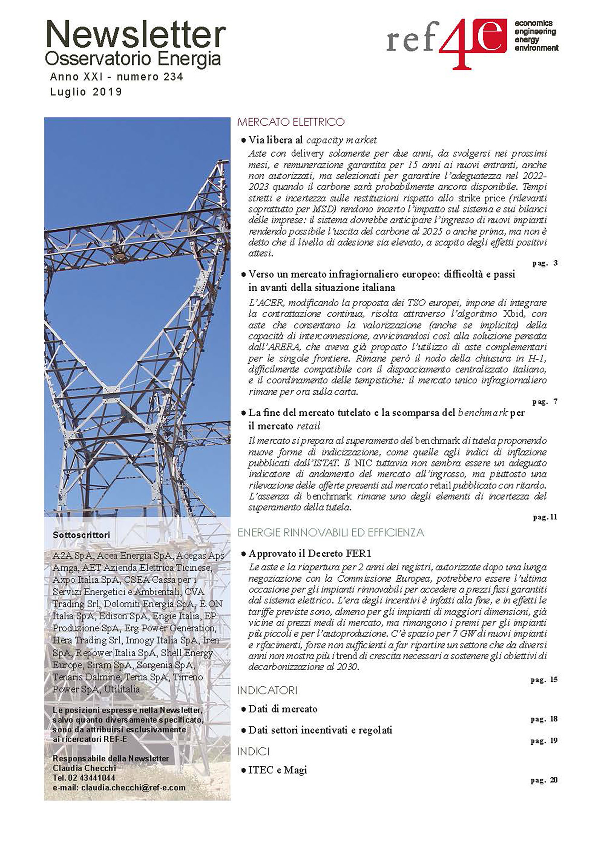 REF-E, ricerca e consulenza per i mercati energetici